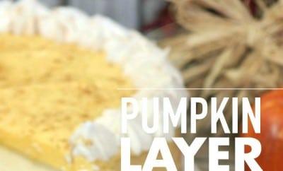 Pumpkin Layer Cheesecake