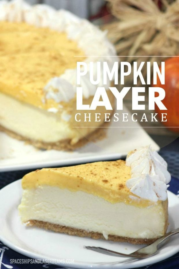Pumpkin Layer Cheesecake