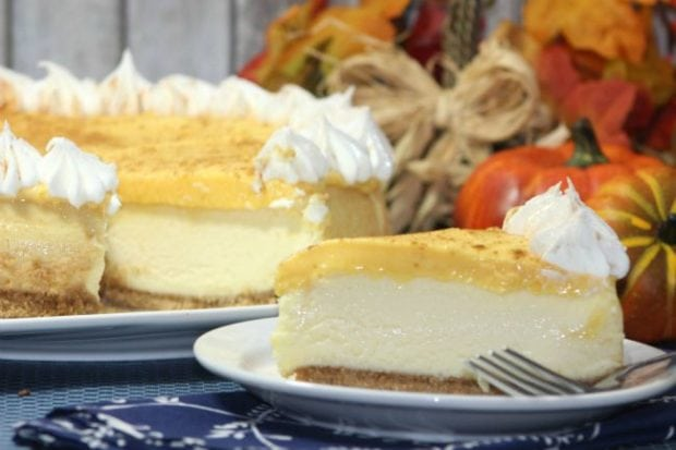 Pumpkin Layer Cake Recipe Idea
