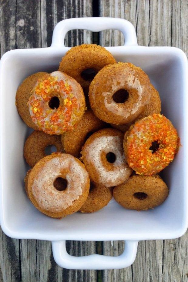 pumpkin spice baked muffins