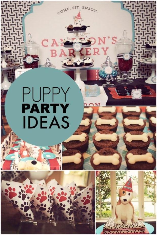 A Dog Gone Cute Puppy Paw Ty Boy Birthday Party