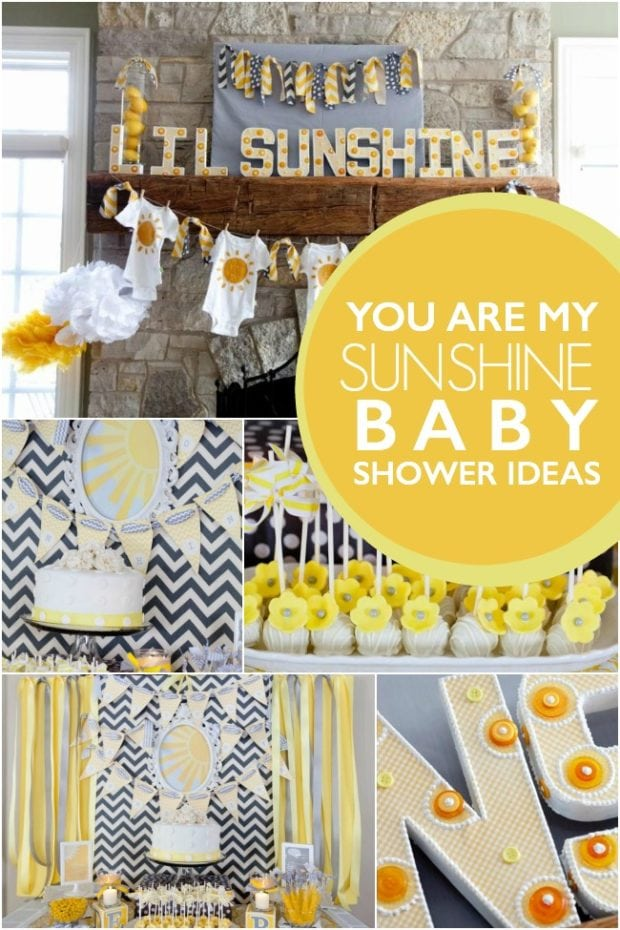 you are my sunshine gender neutral baby shower spaceships and