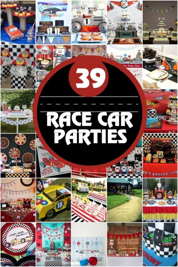Race Car Birthday Party Ideasjpg