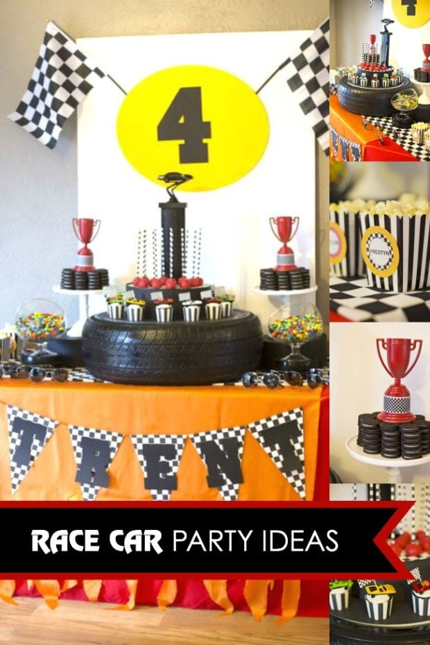 Vintage Race Car Party Supplies