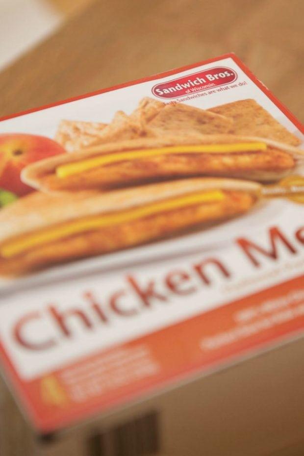 Sandwich Bros. Chicken Cheese Melts