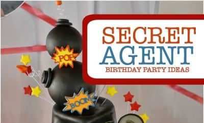 A boys secret agent birthday party spaceships and laser beams filmwisefo