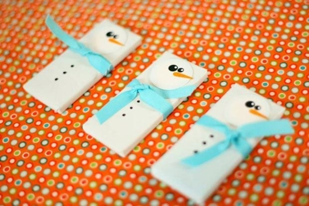 Easy Snowman Favors Spaceships And Laser Beams