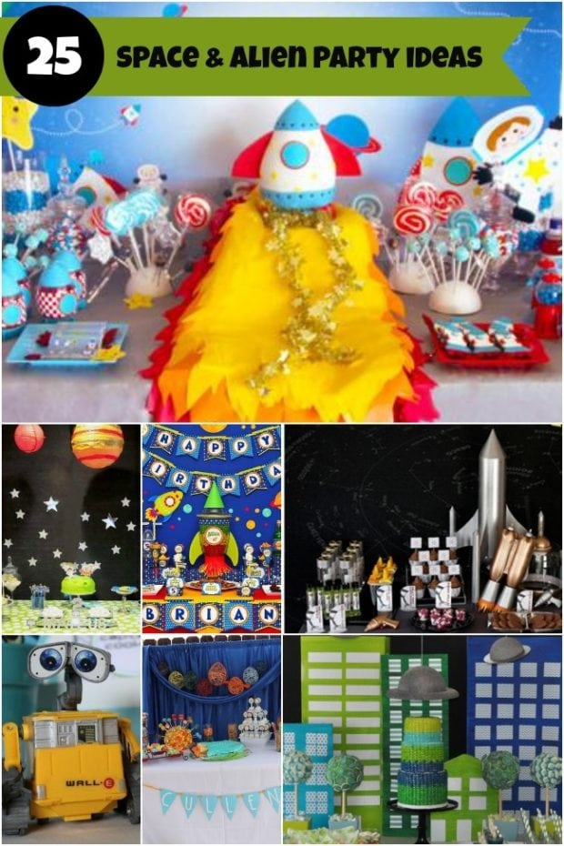 25 Alien and Space Themed Birthday party Ideas