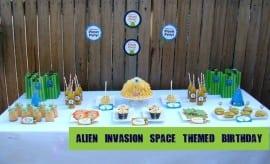 Space Birthday Party Alien Dessert Table 2499944 Copy