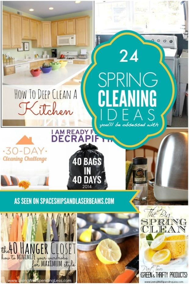 24 Spring Cleaning Ideas You Ll Be Obsessed With