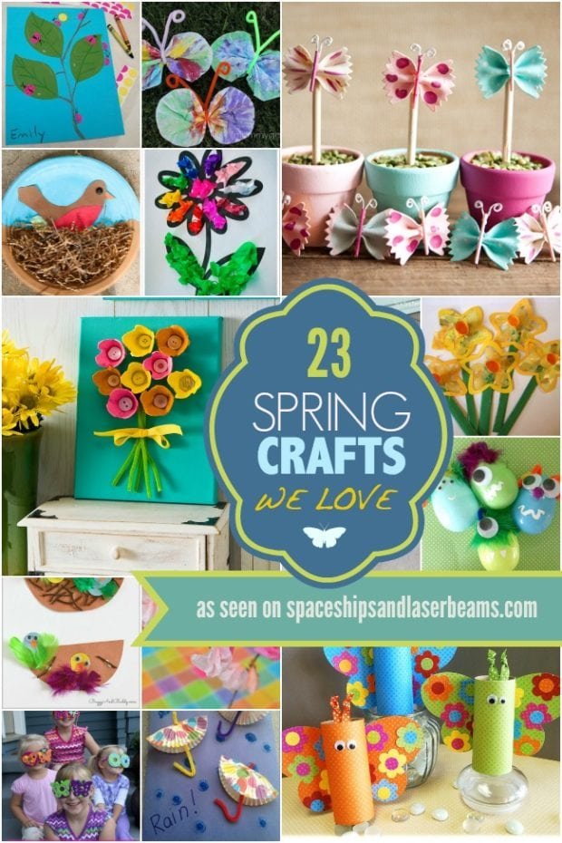 23 Spring Crafts We Love on Spring Daffodil Craft