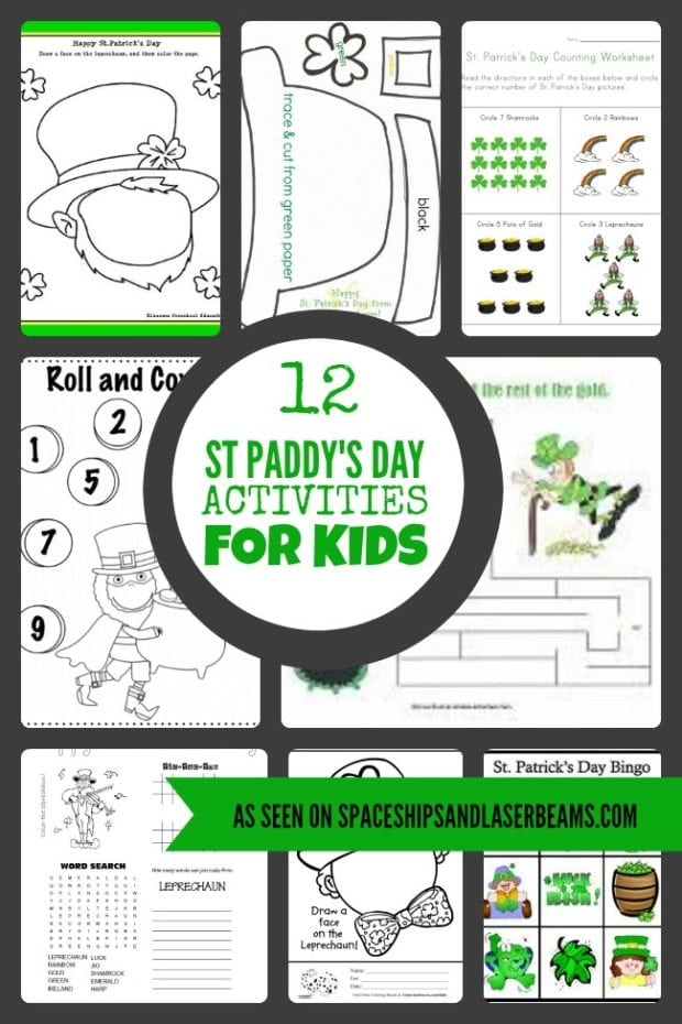 17 St. Patrick's Day Activities and Games for Kids ...