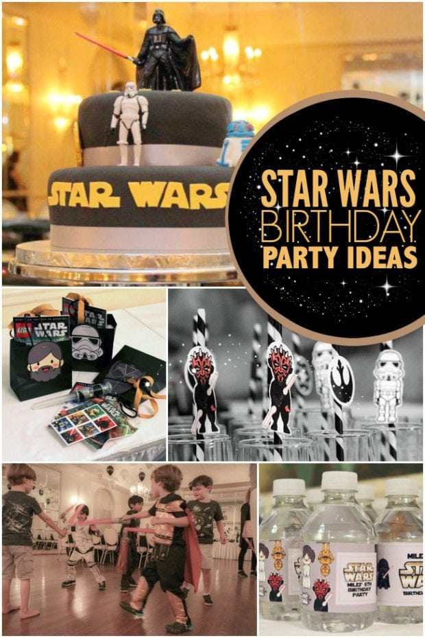Star Wars Birthday Party Ideas For Boys