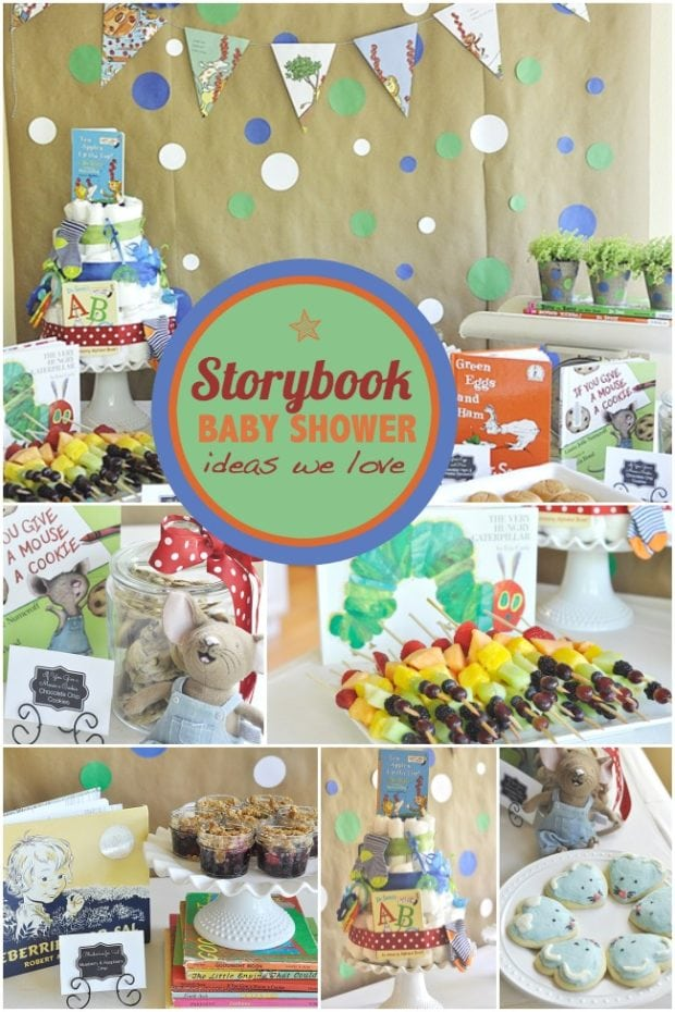 A storybook themed baby shower spaceships and laser beams - Popular boy baby shower themes ...