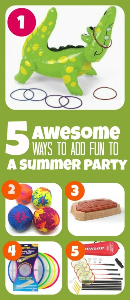 Five Fun Things To Do At Your Next Summer Party