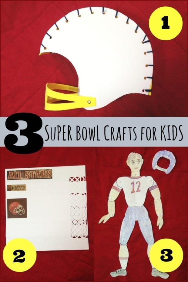3 Super Bowl Crafts For Kids Spaceships And Laser Beams
