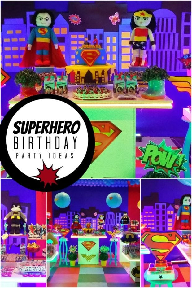 Superhero Birthday Party Ideas 1