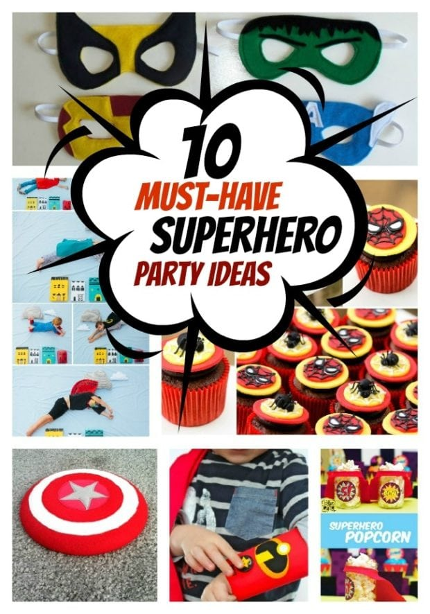 10 Superhero Party MustHaves Spaceships and Laser Beams