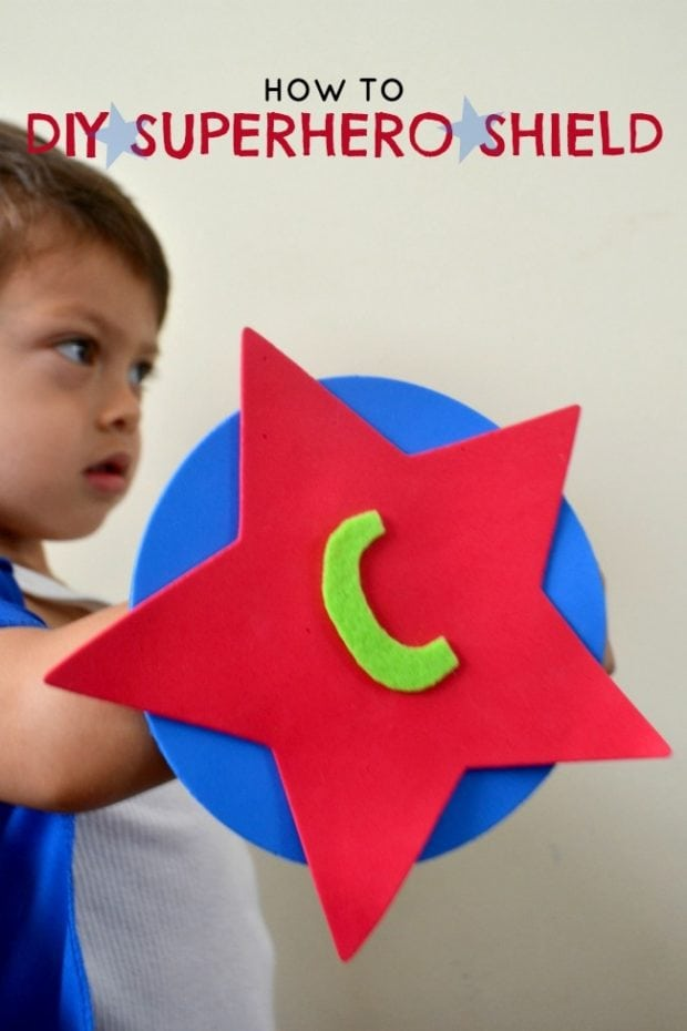 Diy mini superhero shield spaceships and laser beams for Diy crafts for boys