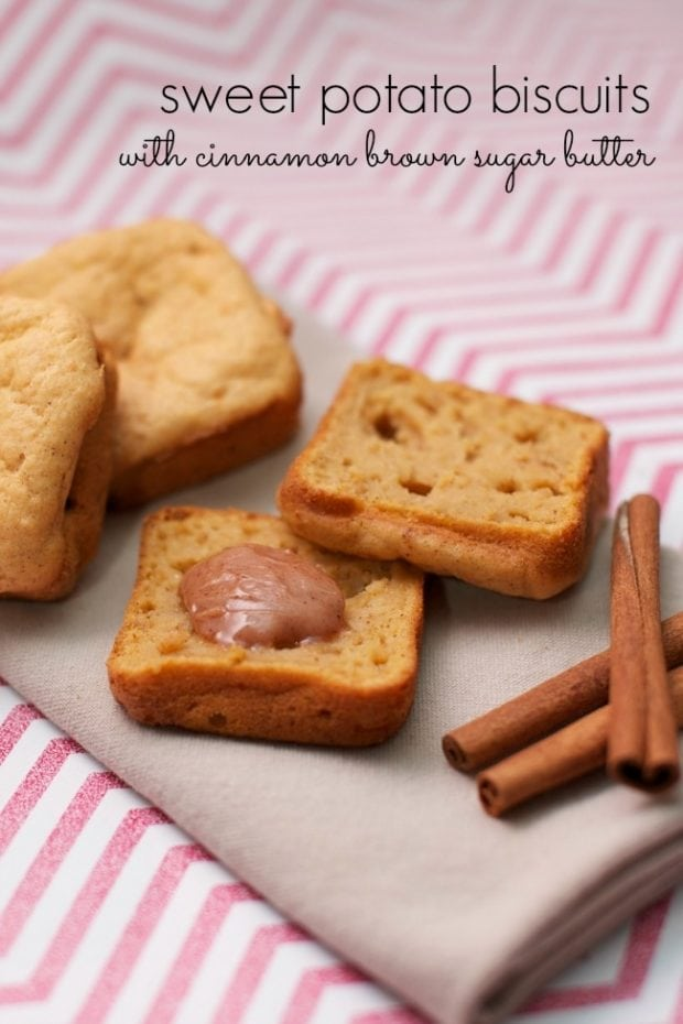 Sweet Potato Biscuits with Cinnamon Brown Sugar Butter ...