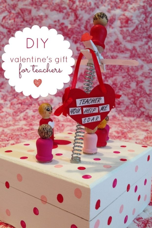 A DIY Valentine\'s Gift for Teacher with Apple Barrel Craft Paint ...