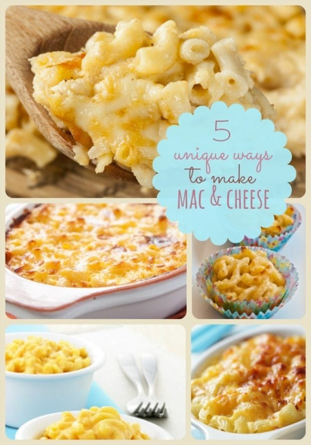 Thanksgiving food ideas 5 mac and cheese side dishes for Unique meals