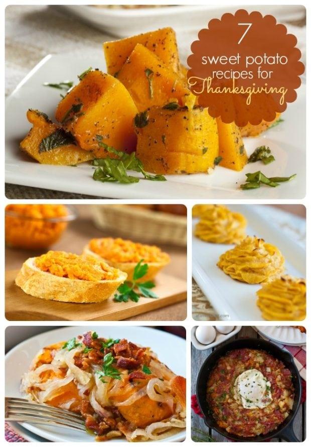 thanksgiving food ideas unique ways to use sweet potato