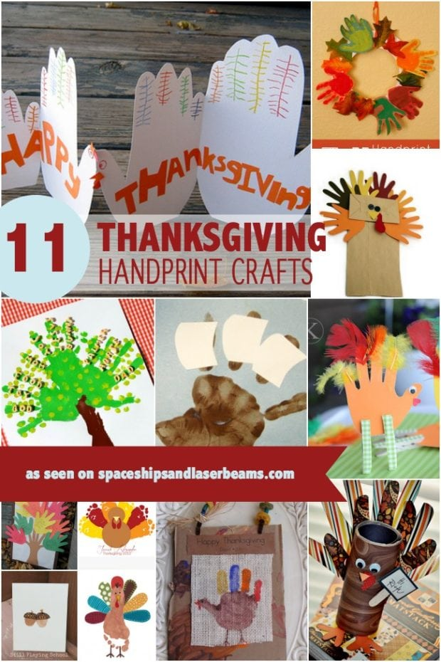 11 Thanksgiving Handprint And Footprint Crafts Your Boys
