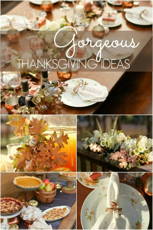 Thanksgiving Decorations For An Elegant Gathering