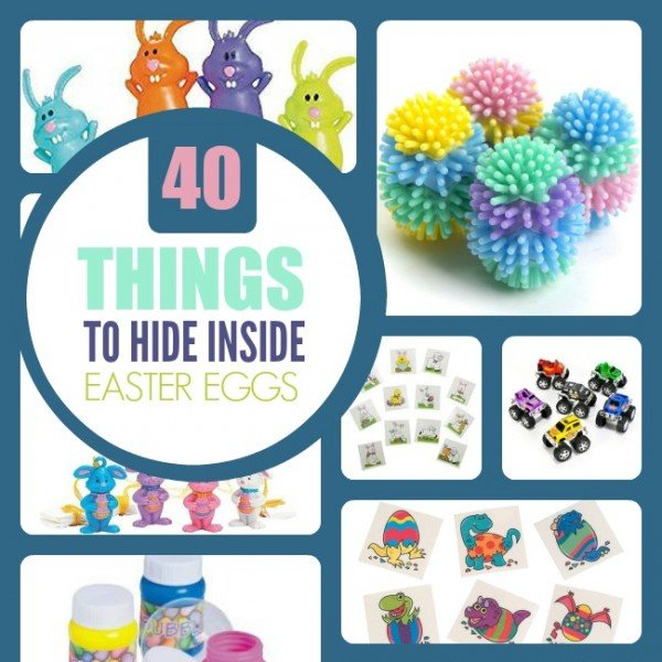 Things To Put Inside Easter Eggs