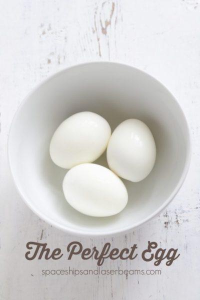 An egg on a plate