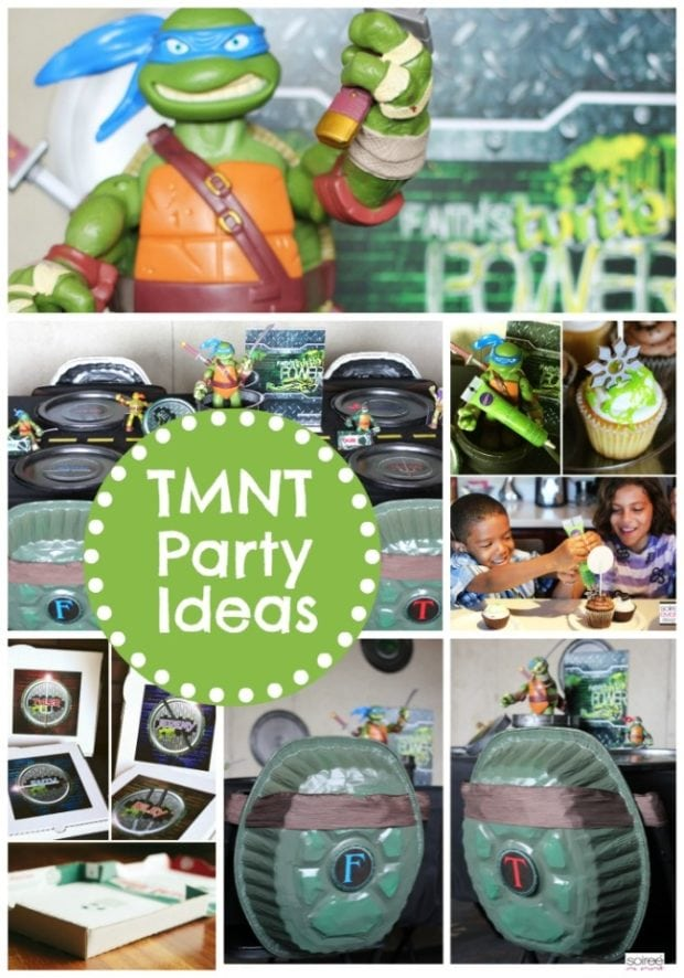Awesome teenage mutant ninja turtles party ideas for Tmnt decorations
