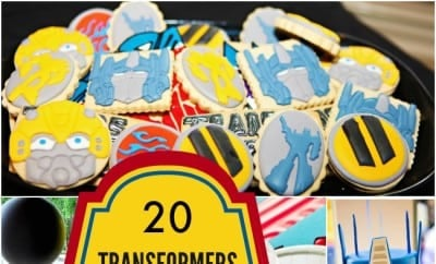 20 Transformers Birthday Party Ideas We Love Spaceships and Laser