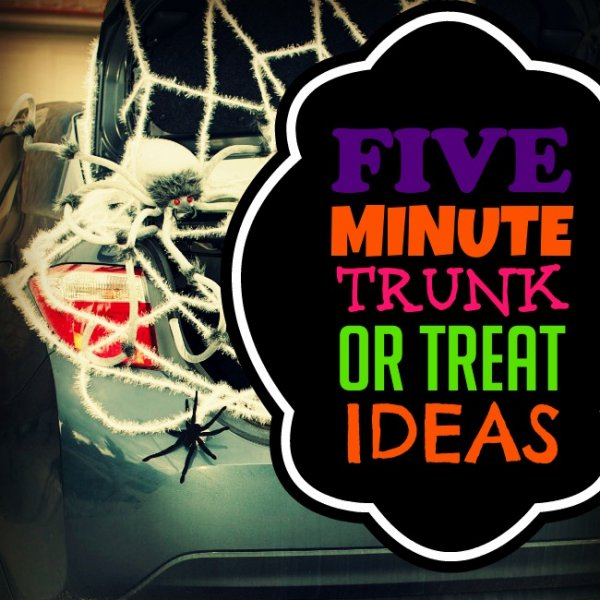 Trunk Or Treat 2016 Decorating Ideas For Parents With No