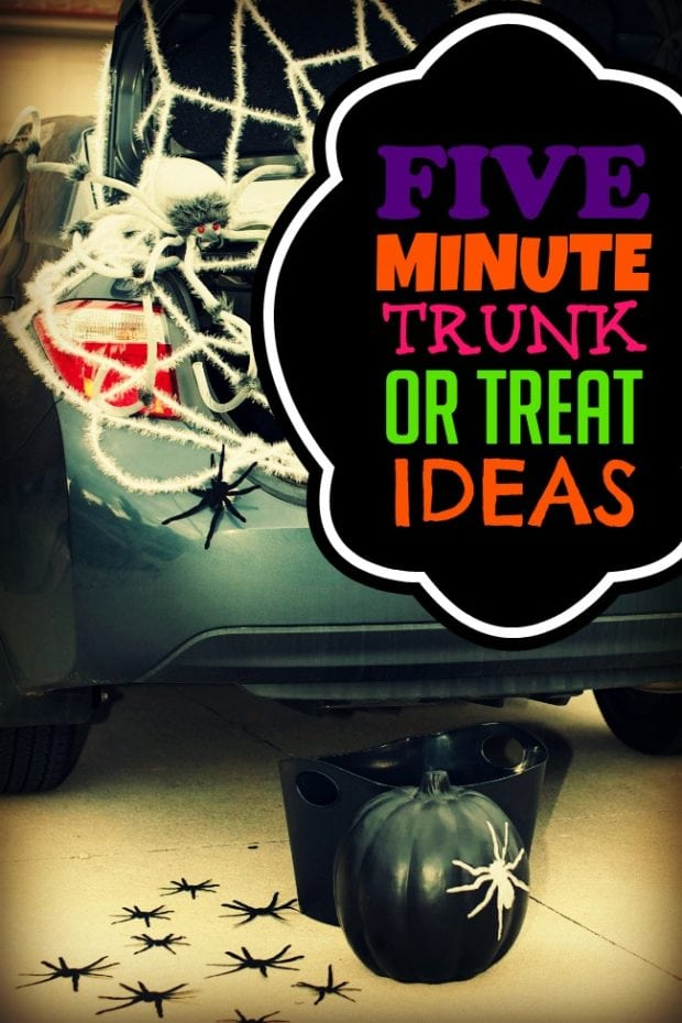 Trunk Or Treat 2019 Decorating Ideas For Parents With No Extra Time Spaceships And Laser Beams