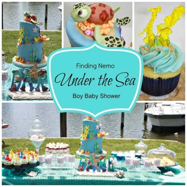 Under The Sea Baby Shower Finding Nemo Birthday Party