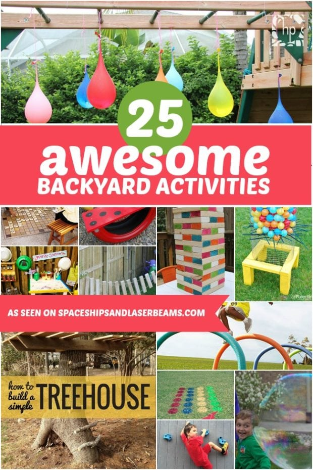 Unique Backyard Activities