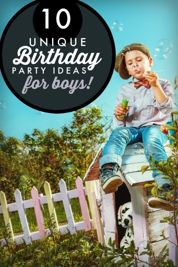 10 Unique Birthday Party Ideas for Boys | Spaceships and ...