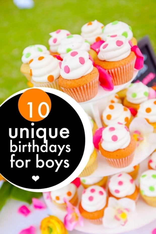10 Unique Birthdays for Boys | Spaceships and Laser Beams