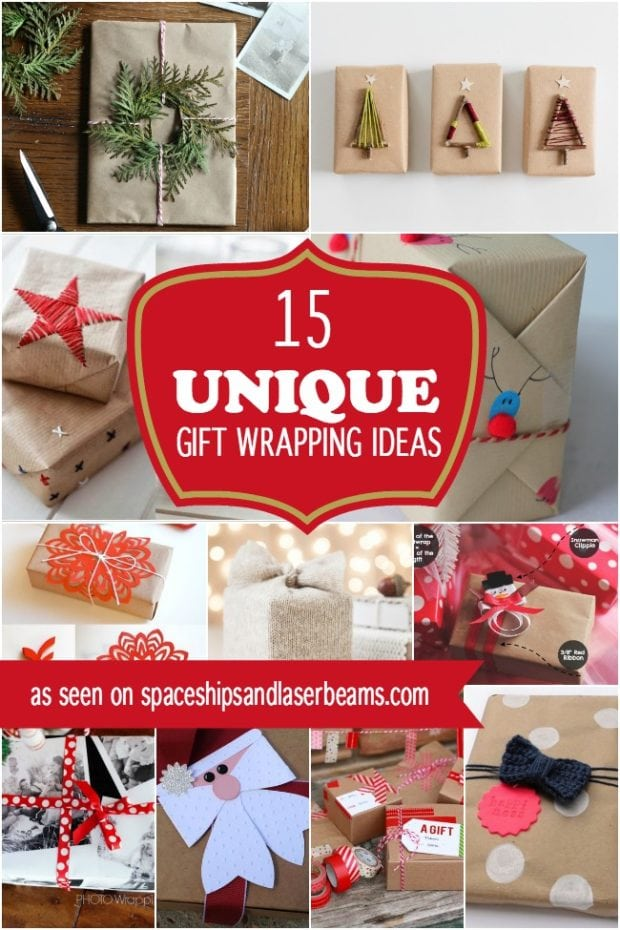 15 unique christmas gift wrapping ideas spaceships and for Creative christmas ideas