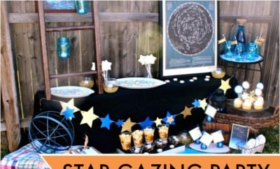 Unique Star Gazing Watch Party