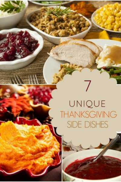 Unique Thanksgiving Side Dishes