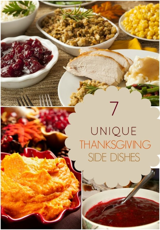 7 Unique Thanksgiving Side Dishes Spaceships And Laser Beams