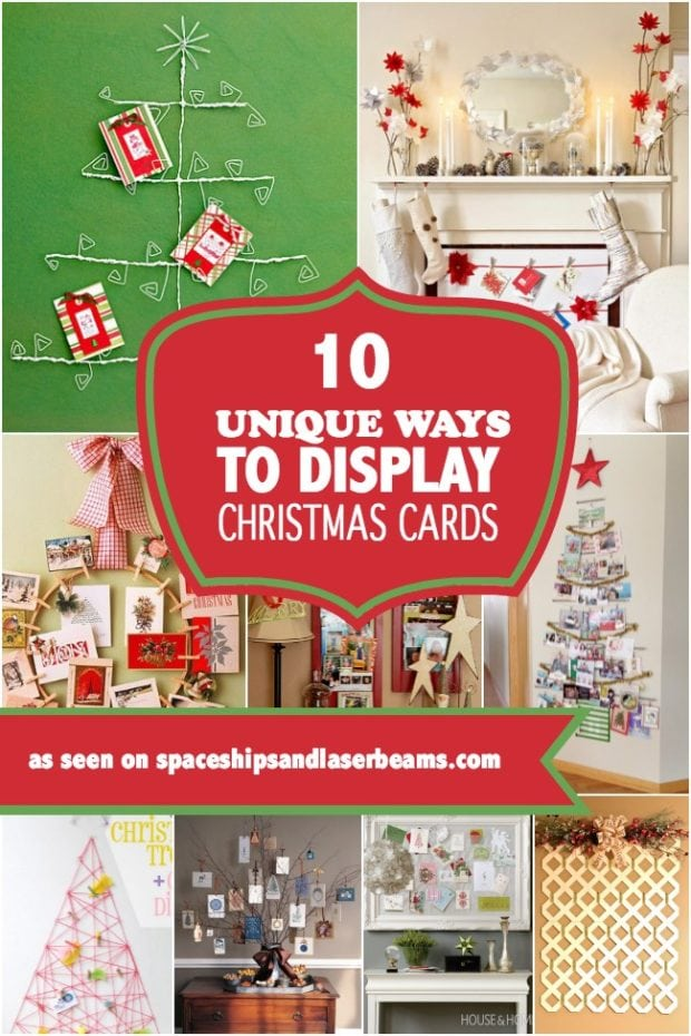 Unique Ways To Decorate Living Room: 10 Unique Ways To Display Christmas Cards