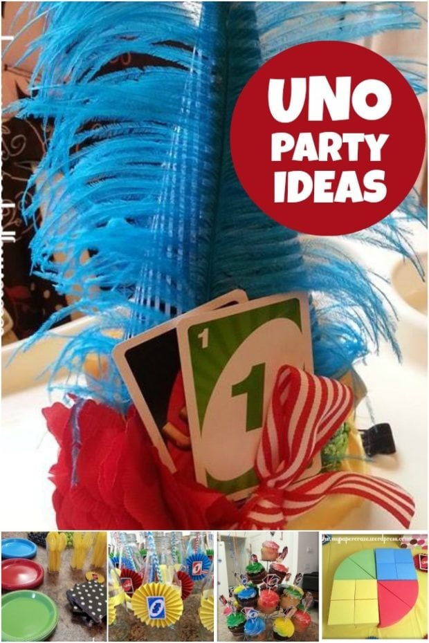 Uno Terrific 1st Birthday Party | Spaceships and Laser Beams
