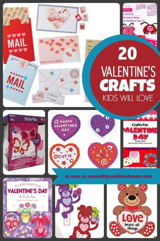 valentine crafts for kids 20 s crafts will spaceships and 30824