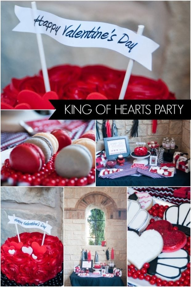 king of hearts valentine u0026 39 s day party