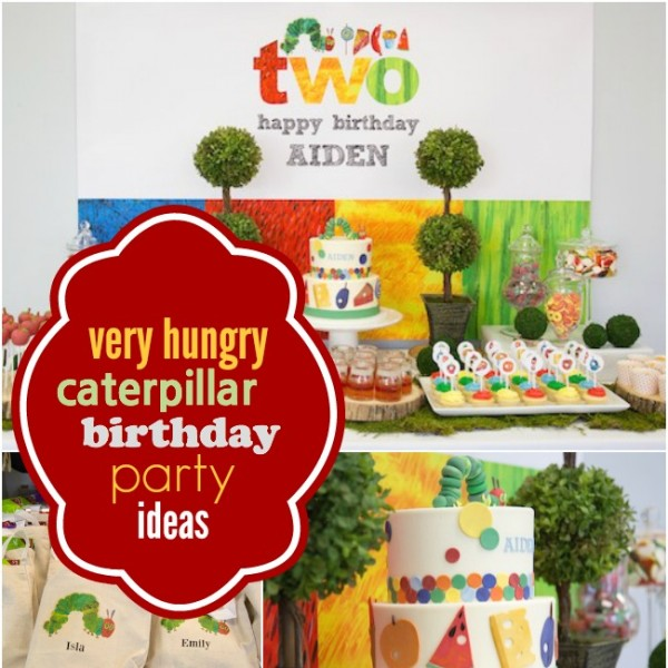 A Boy's Very Hungry Caterpillar 2nd Birthday Party