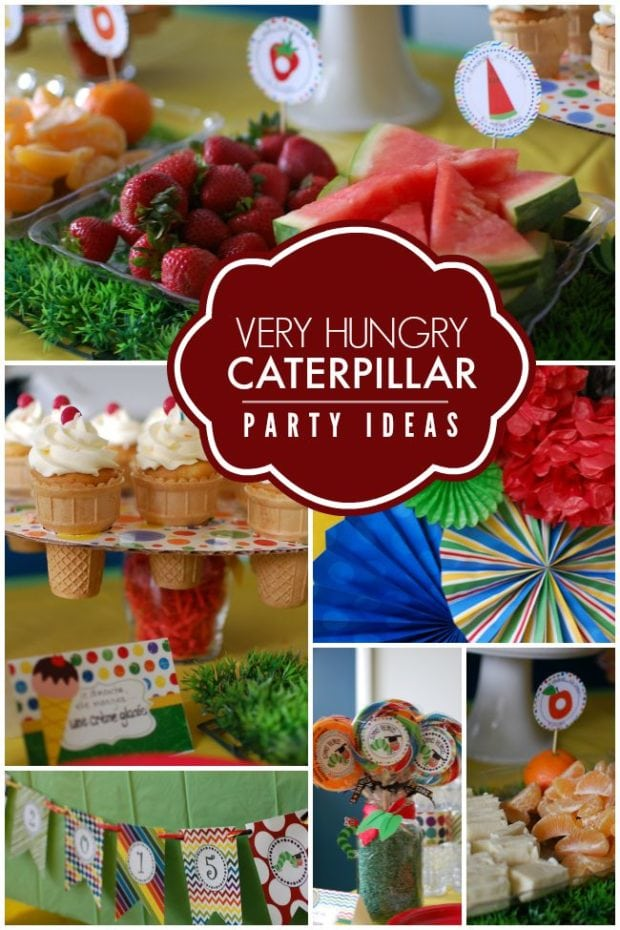 The Very Hungry Caterpillar School Party Spaceships And