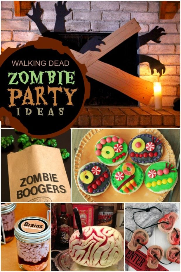 Walking Dead Zombie Party Ideas